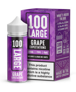 100 Large - Grape Expectations 100ml Short Fill Including Nic Shots