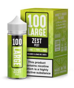 100 Large - Zest Pest 100ml Short Fill Including Nic Shots