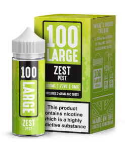 100 Large - Zest Pest 100ml Short Fill Including Nic Shots
