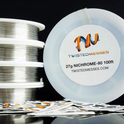 Twisted Messes Nichrome 80 Wire