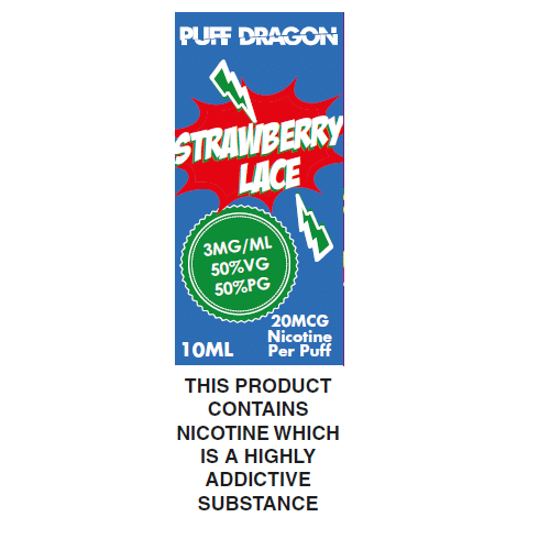 Strawberry Laces by Puff Dragon
