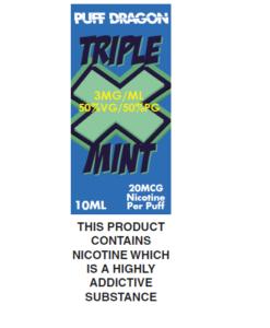 Tripple X Mint by Puff Dragon