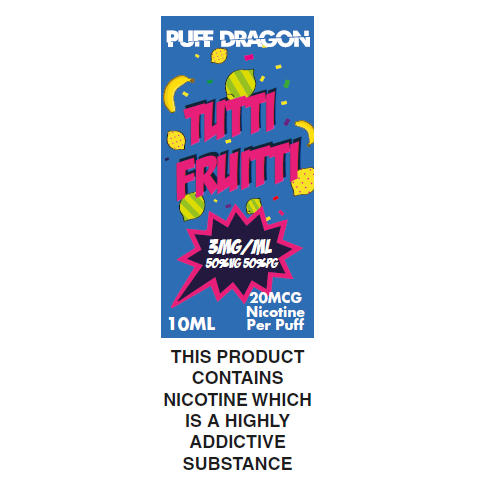 Tutti Frutti by Puff Dragon