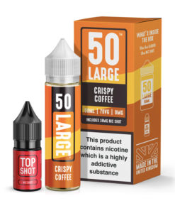 50 Large - Crispy Coffee 50ml Short Fill + Nic Shot