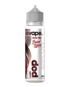 88Vape - Cola Pop 50ml Eliquid Short Fill