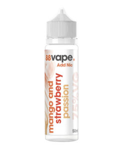 88Vape - Mango & Strawberry Passion 50ml Eliquid Short Fill