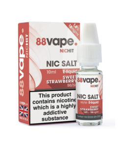 Sweet Strawberry Nic Salt by 88Vape