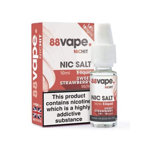 Sweet Strawberry Nic Salt by 88Vape