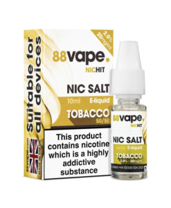 88Vape Nic Salt - Tobacco 10ml 20mg