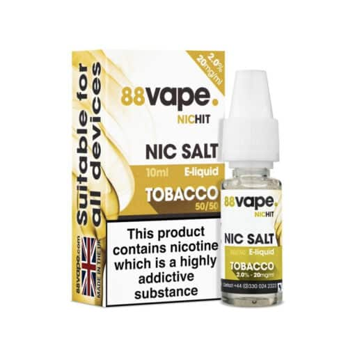 88Vape Nic Salt - Tobacco 10ml 20mg