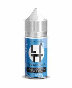 LITT - Blue Raspberry 30ml 500mg CBD Vape Liquid