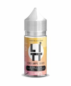 LITT - Bubble Gum 30ml 500mg CBD Vape Liquid