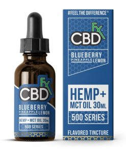 CBDfx - Blueberry Pineapple Lemon CBD Tincture MCT Oil