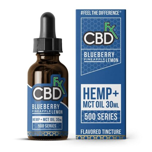 CBDfx - Blueberry Pineapple Lemon CBD Tincture MCT Oil