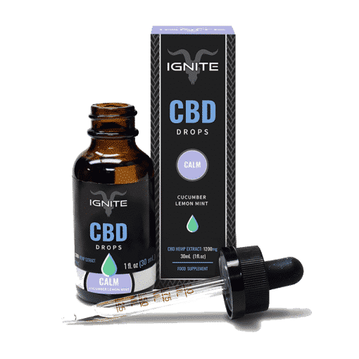 Cucumber, Lemon & Mint Tongue Drops by Ignite CBD
