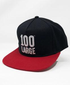 100 Large Red Cap