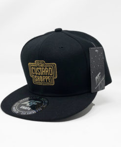 The Custard Shoppe Flat Peak Cap