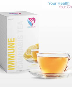 Lemon Flavoured CBD Tea Bags (20pc) by Canabidol™