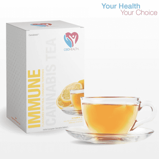 Lemon Flavoured CBD Tea Bags (20pc) by Canabidol™
