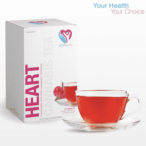 Raspberry Flavoured CBD Tea Bags (20pc) by Canabidol™