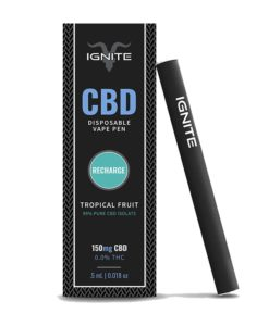Ignite CBD - Recharge Tropical Fruits Flavoured Vape Pen (150mg)