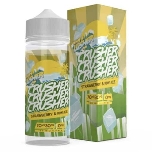 Strawberry & Kiwi Ice by Crusher