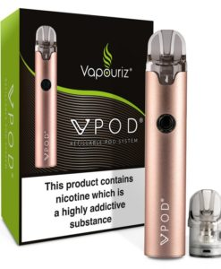 Vpod Refillable Pod System by Vapouriz