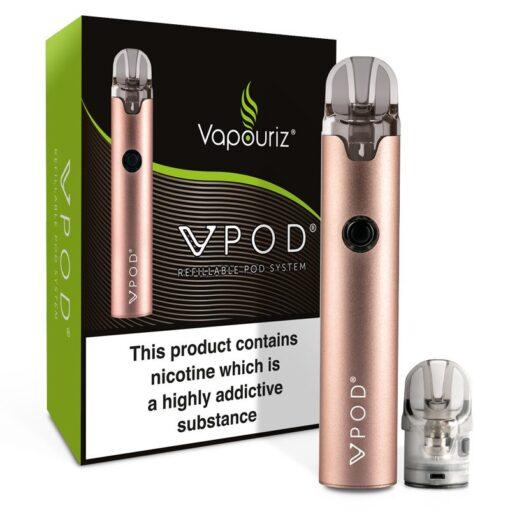 Vpod Refillable Pod System by Vapouriz