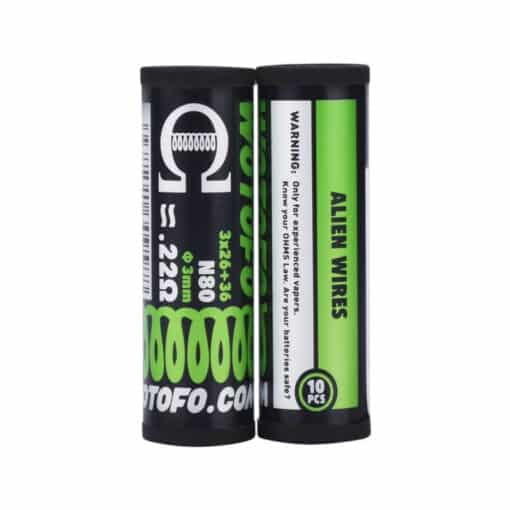 alien wires coil by wotofo pack of 10