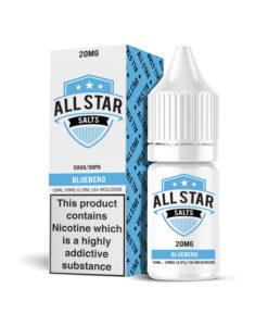 All Star Salts - Blueberg Nic Salt 20mg