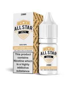 All Star Salts - Honey Creme Tobacco Nic Salt 20mg