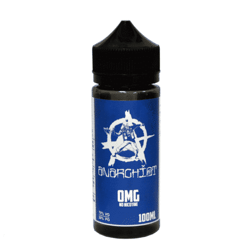 Anarchist Blue 100ml 0mg Short Fill