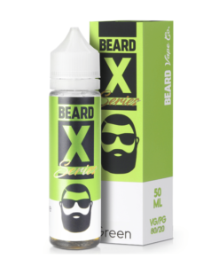 Beard Colours - Green 50ml Short Fill