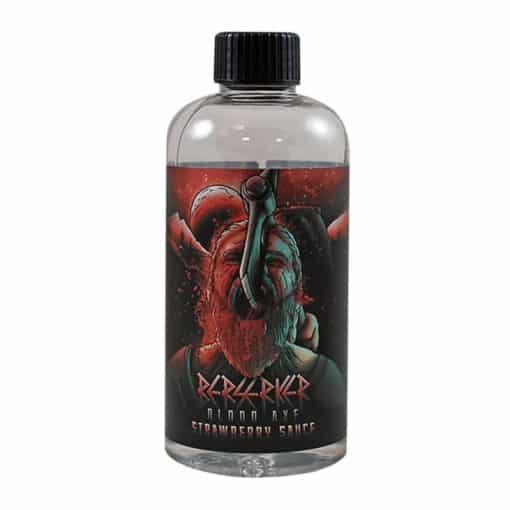 Berserker Blood Axe - Strawberry Sauce 200ml 0mg Short Fill