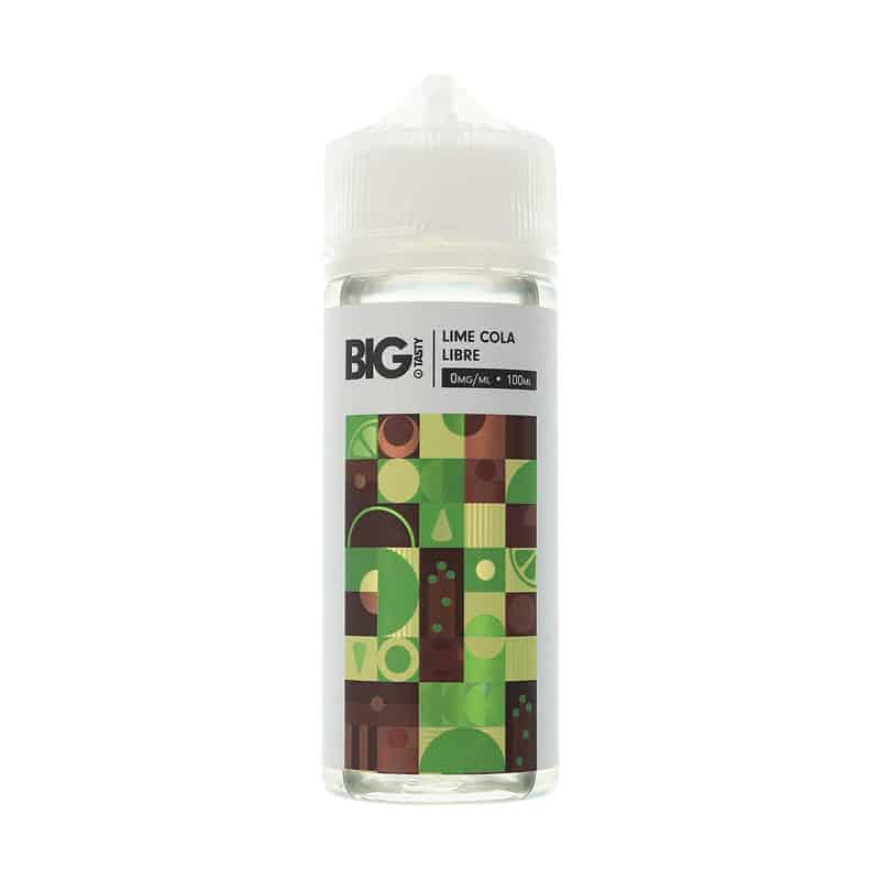 Big Tasty - Lime Cola Libre 100ml Eliquid