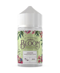 Bloom Aromatic E-Liquid - Juniper Mangosteen Apple 50ml
