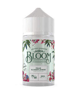 Bloom Aromatic E-Liquid - Pear Elderflower 50ml