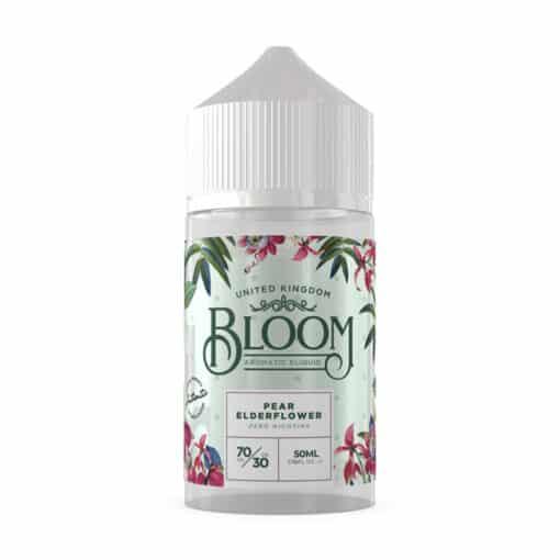 Bloom Aromatic E-Liquid - Pear Elderflower 50ml