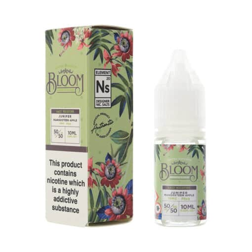 Bloom Salts - Juniper Mangosteen Apple 10mg & 20mg Nic Salt
