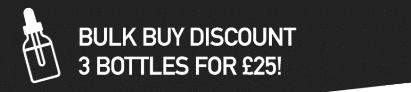 E-Liquids UK - Bulk Buy Discount 3 for £25!