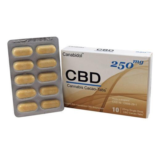 Canabidol CBD CACAO-TABS