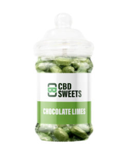 CBD Asylum - Chocolate Limes 25MG Per Sweet