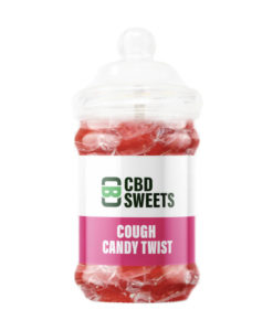 CBD Asylum - Cough Candy Twist 25MG Per Sweet