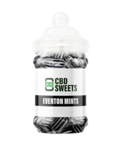 CBD Asylum - Everton Mints 25MG Per Sweet