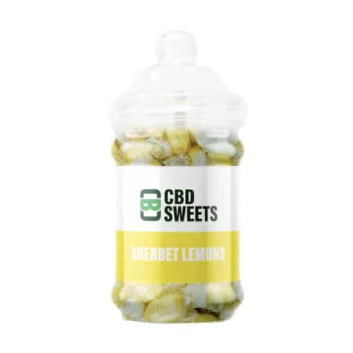 CBD Asylum - Sherbet Lemons 25MG Per Sweet