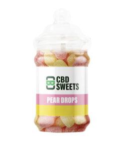 CBD Pear Drop Sweets by CBD Asylum
