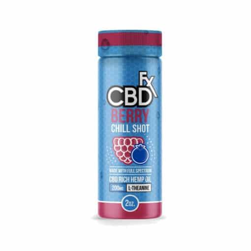 CBDfx Berry Chill Shot 200mg