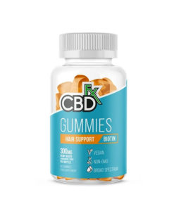 CBDfx Hair Support Biotin Gummies