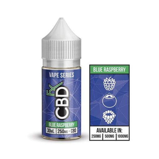 Blue Raspberry by CBDfx Vape Series