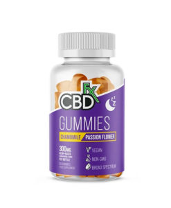 CBDfx Chamomile Passion Flower Gummies